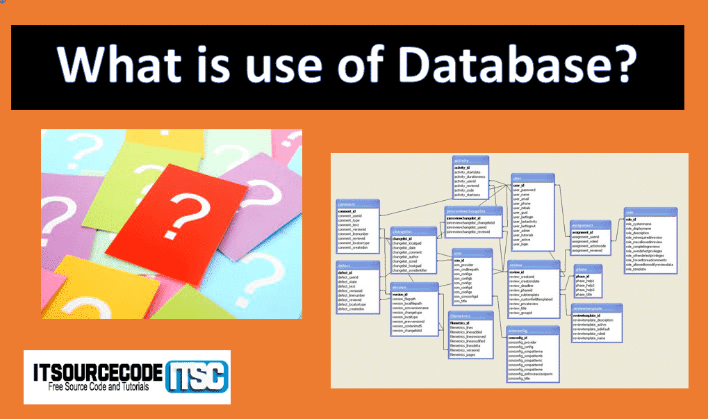 what is use of database