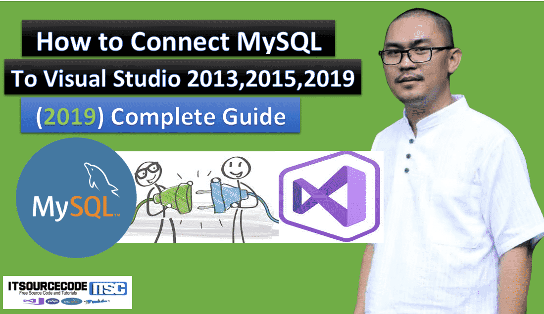 How to connect mysql to visual studio 2013 2015 2017 2019