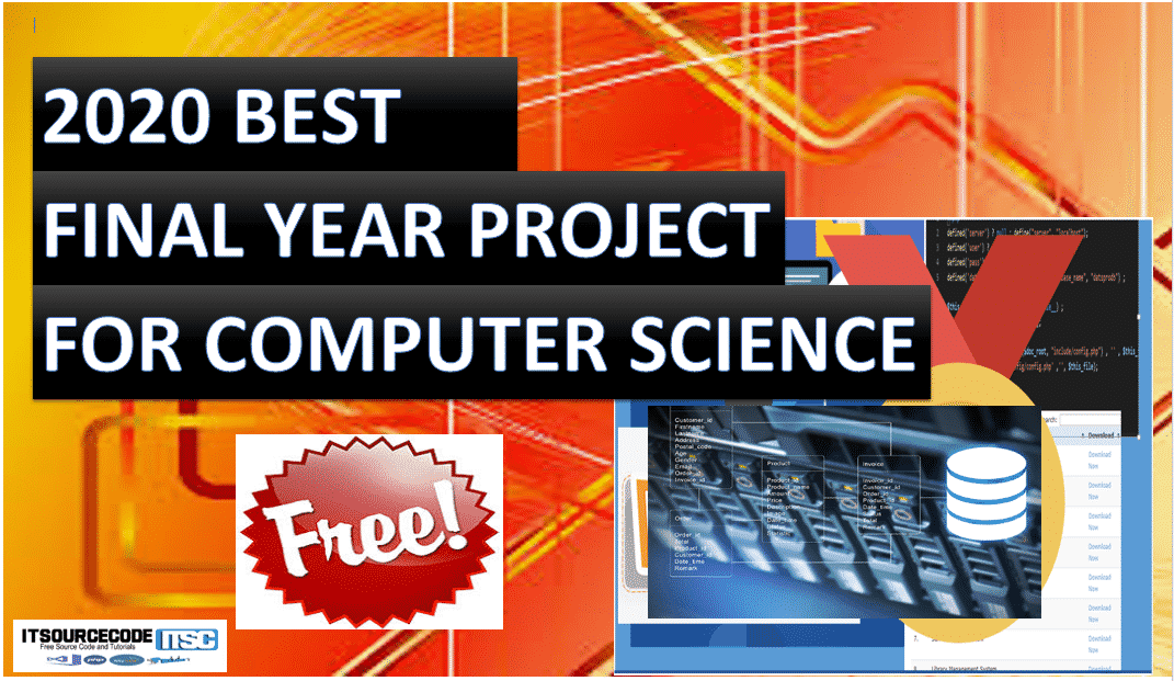 best final year project in computer science students 2020