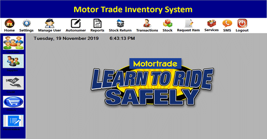 sales and inventory management system project in vb.net documentation