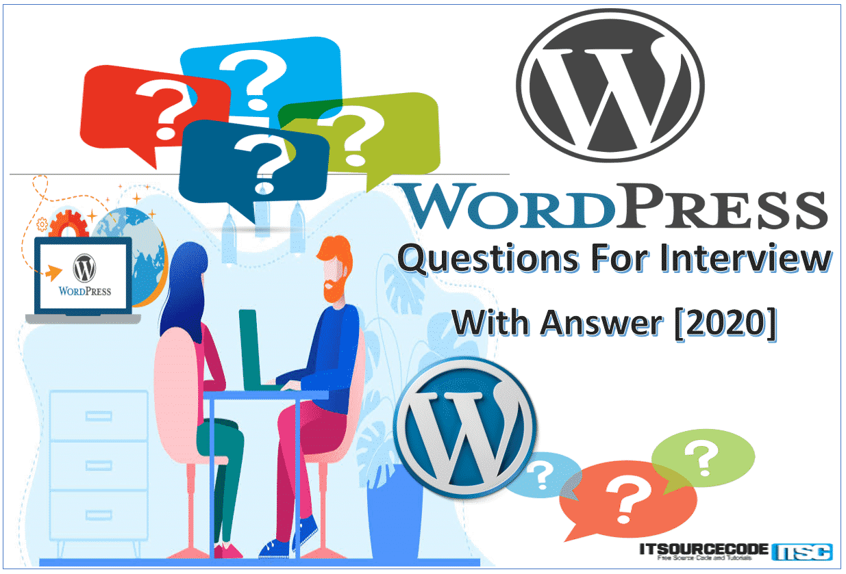wordpress Questions for Interview and Answers 2020