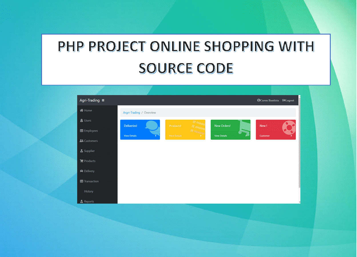 PHP Project Online Shopping with Source Code