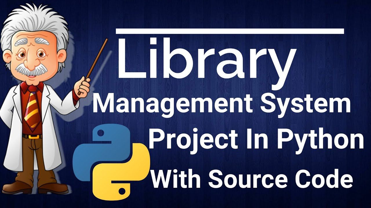 library management system project in python code