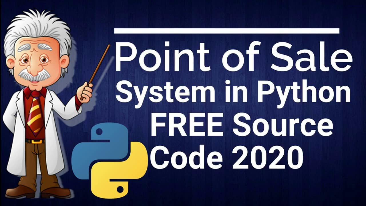 Point of Sale System in Python Project with Source Code