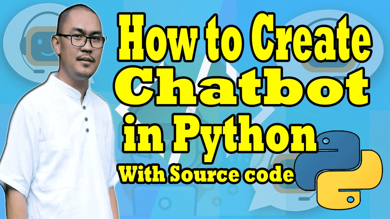 Chatbot in python projects with source code