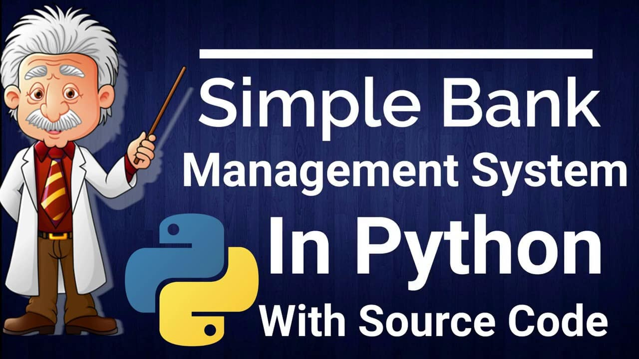 Bank Management System Project in Python
