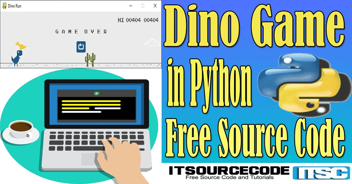 Dino Game in Python with Source Code