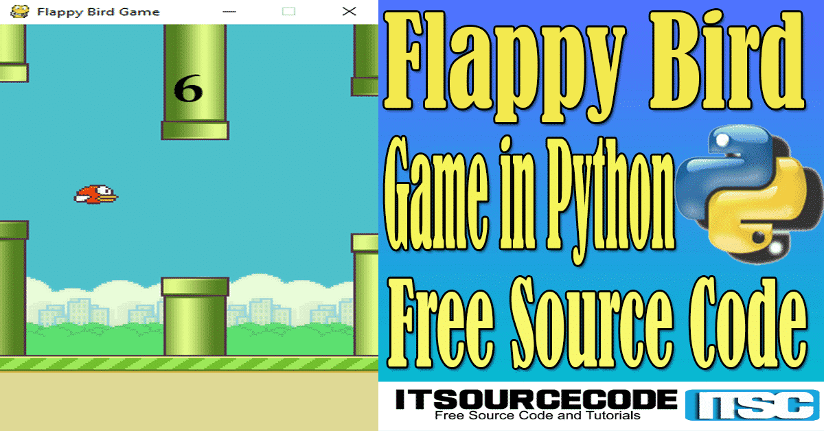 Flappy Bird Game in Python with Source Code