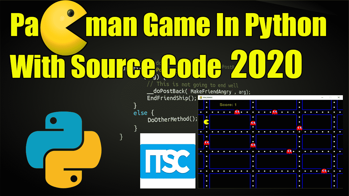 Pacman In Python Code