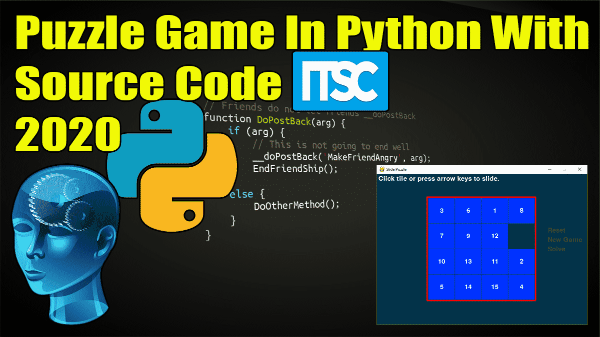 Puzzle Game In Python