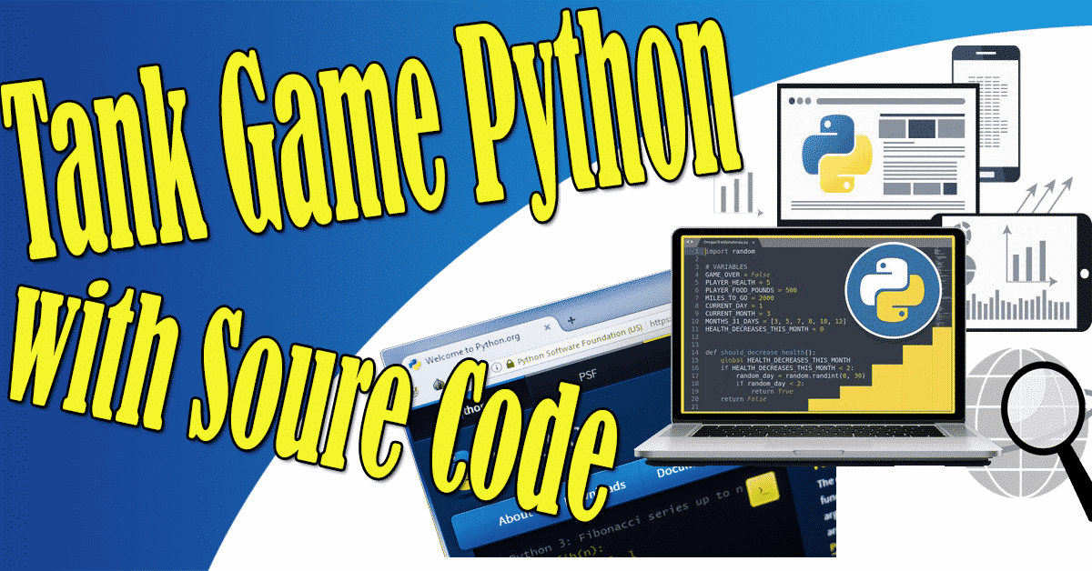 Tank Game Python with Source Code