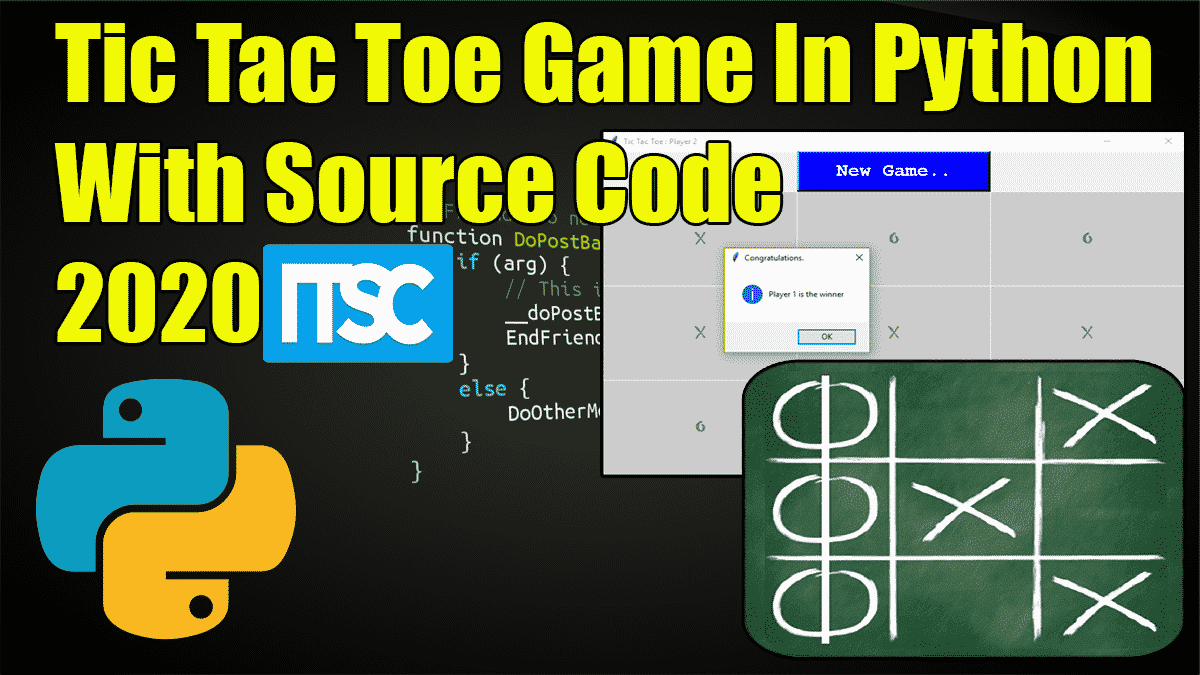 Tic Tac Toe Game In Python