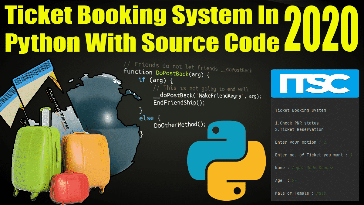 Ticket Booking System In Python