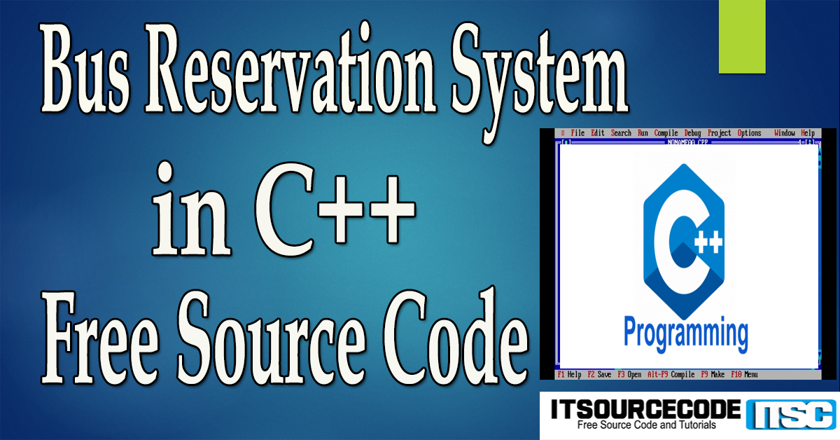Bus Reservation System in C++ with Source Code