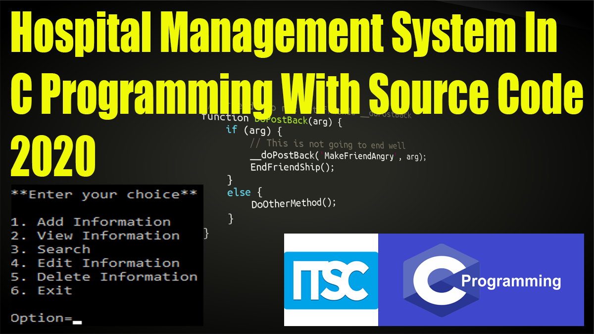 Hospital Management System In C With Source Code