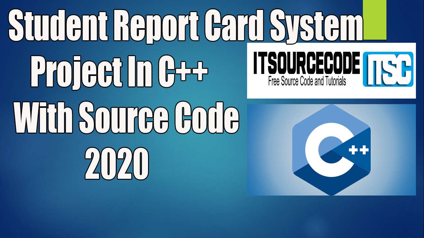 C++ Program On Student Report Card