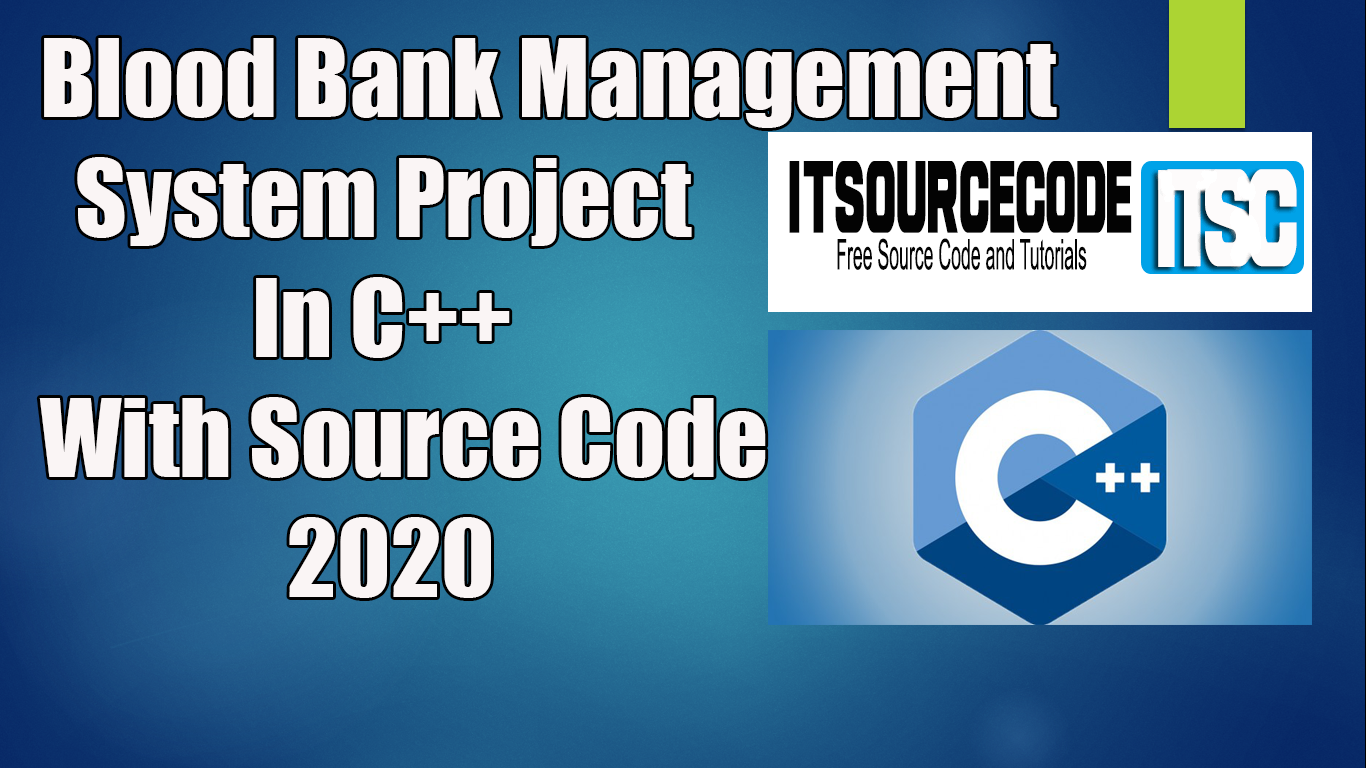 Blood Bank Management System Project In C++