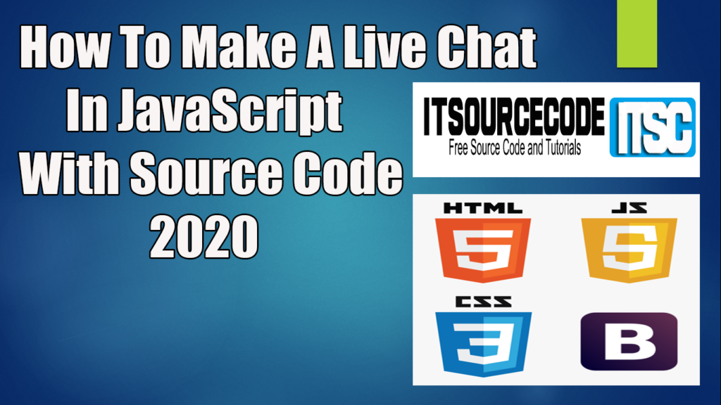How To Make A Live Chat In JavaScript