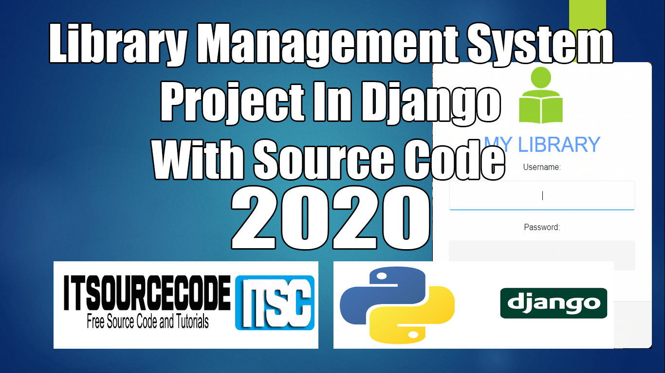 Library Management System Project In Django
