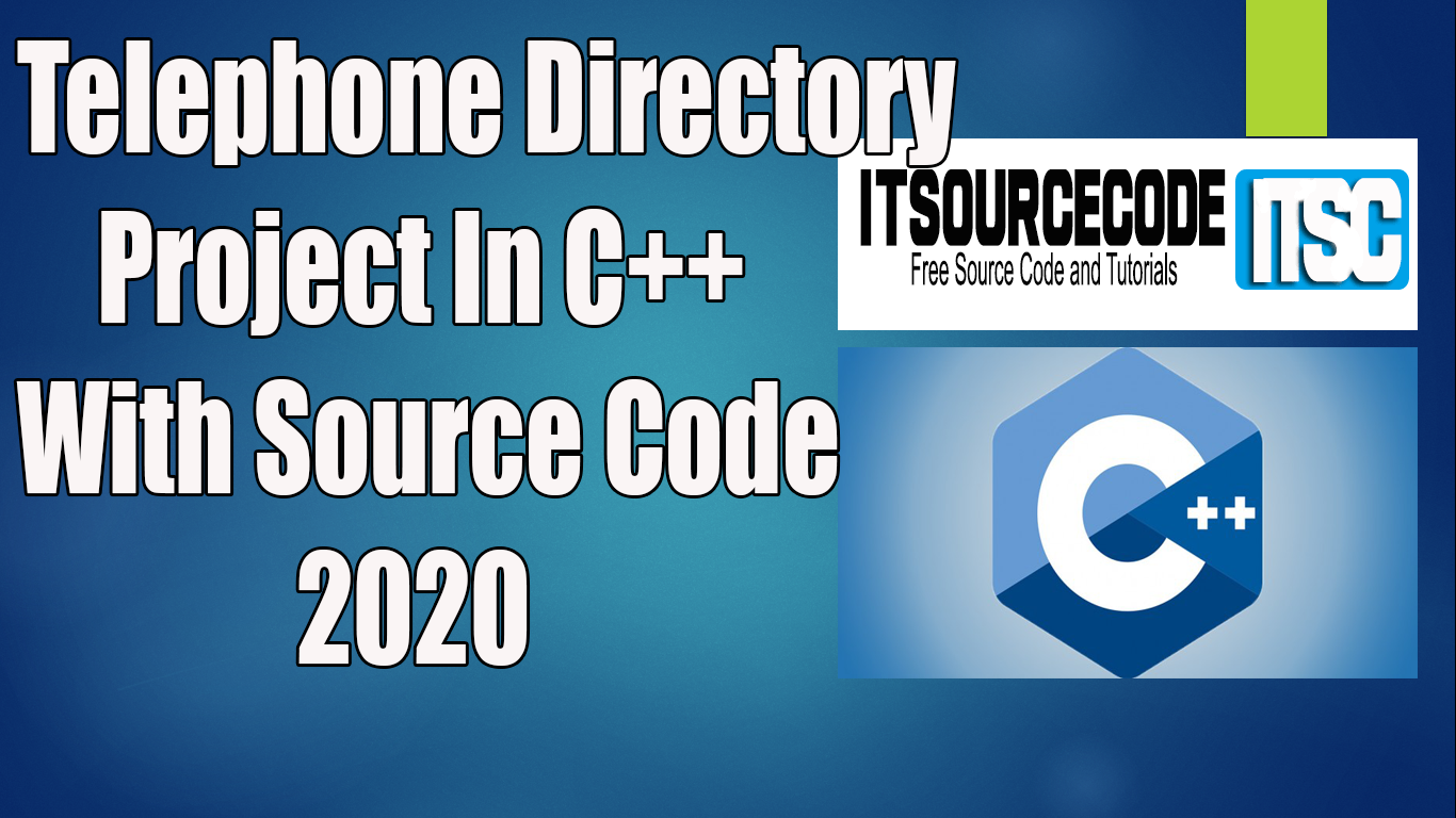Telephone Directory Project In C++