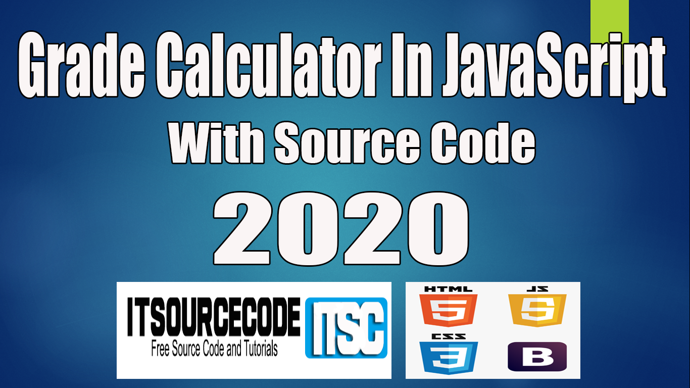 how to make a grade calculator in javascript