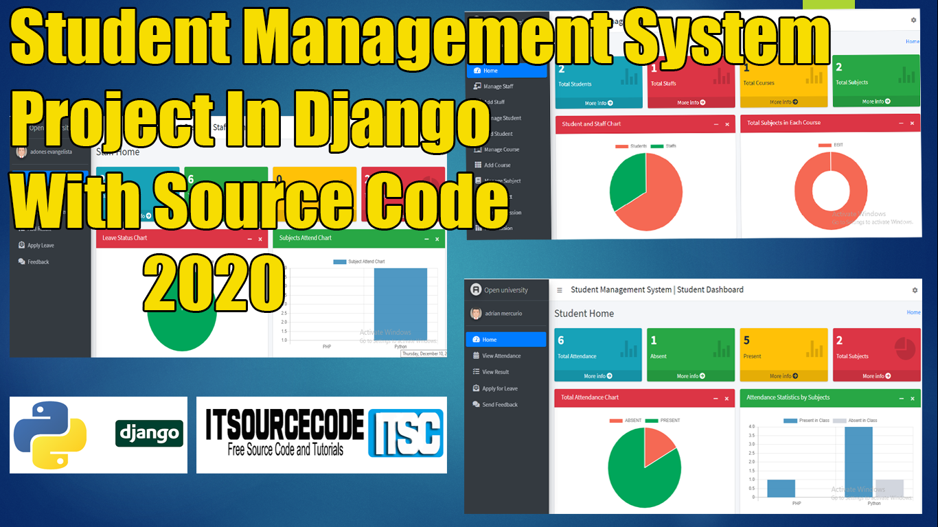 Student Management System Project In Django