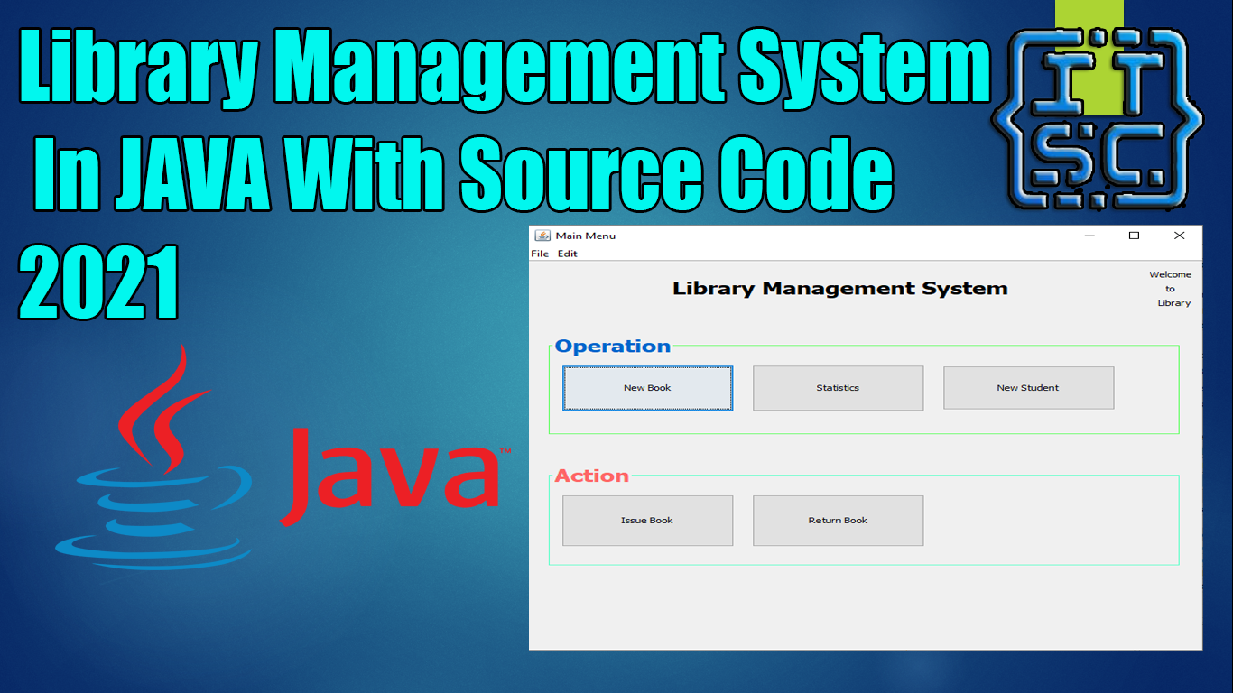 Library Management System Java Project With Source Code