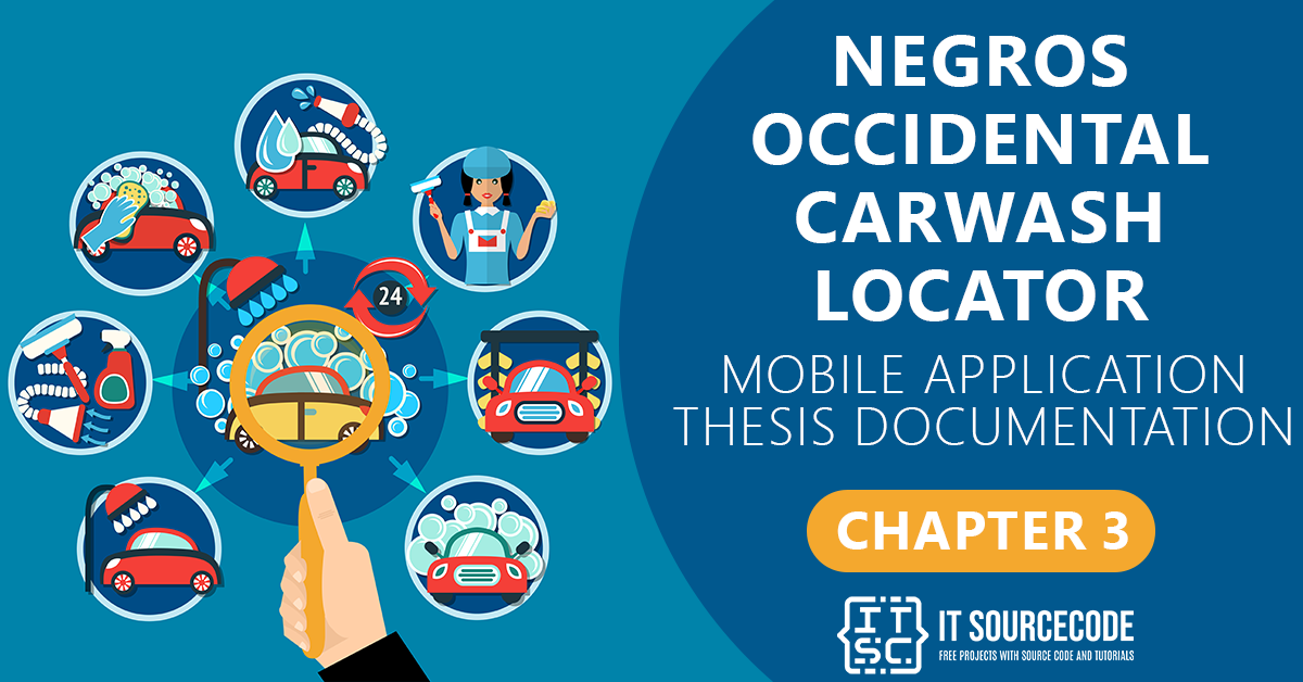 NOCL Location Based Mobile Application Chapter 3   Methodology