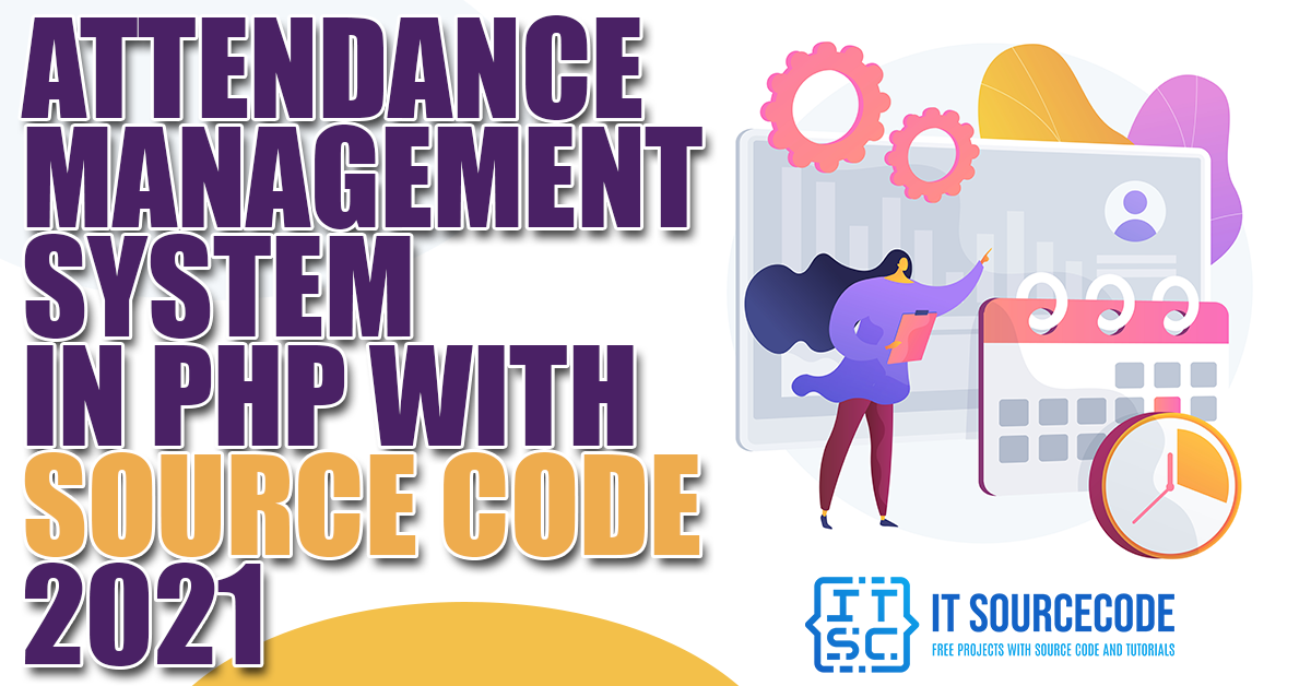 Attendance Management System in PHP
