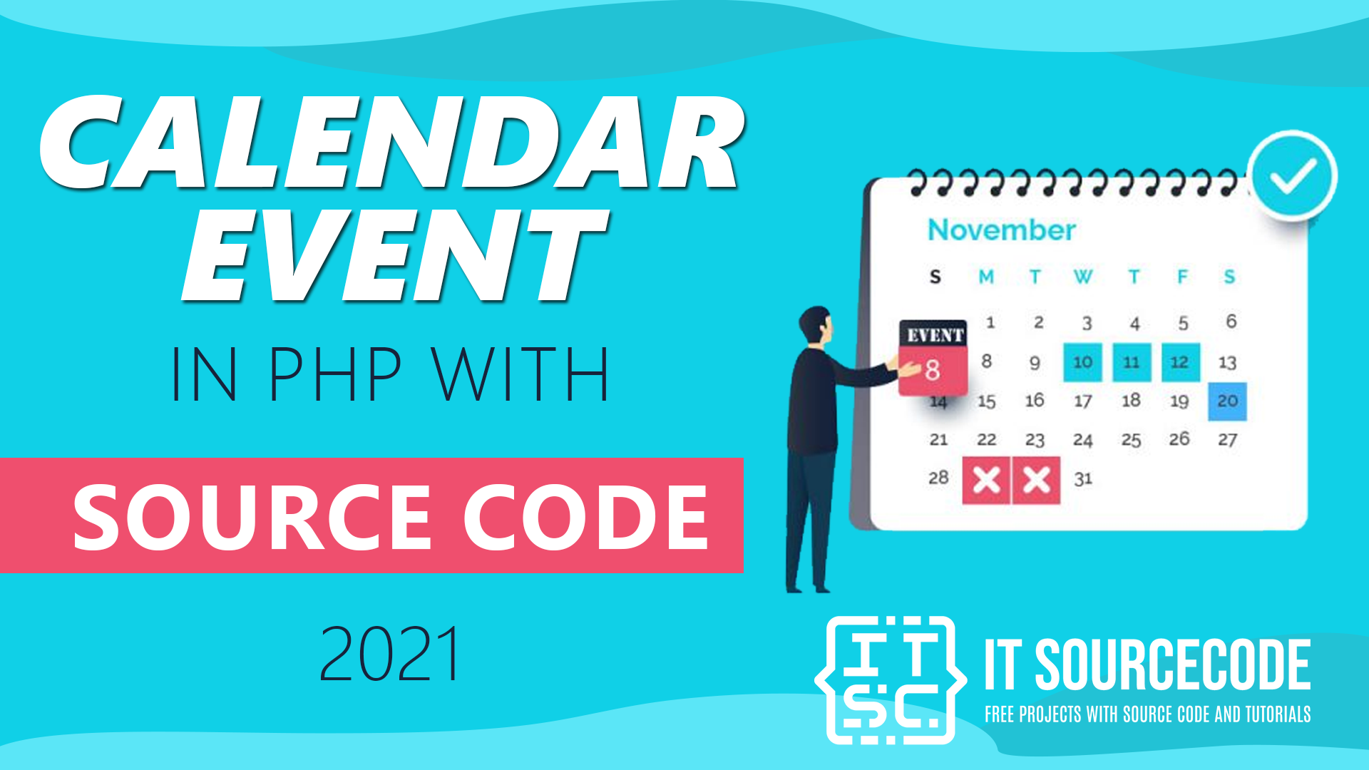 Calendar Event In PHP With Source Code