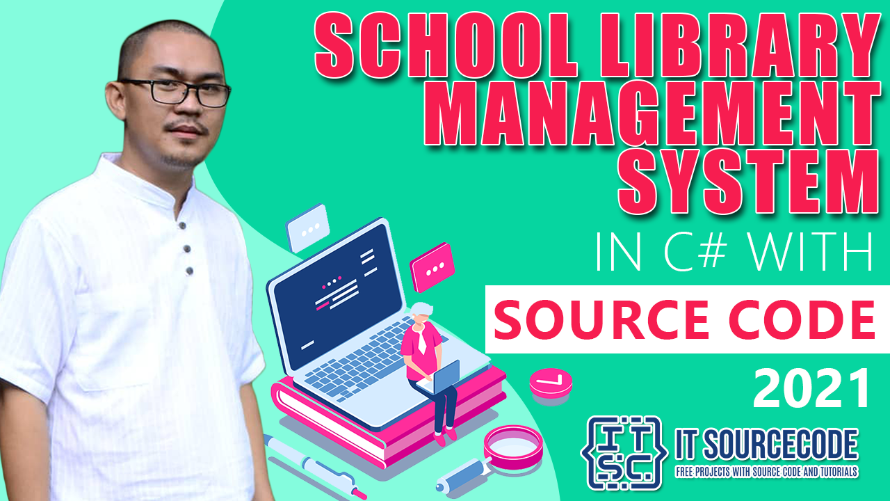 School Library Management System in C#