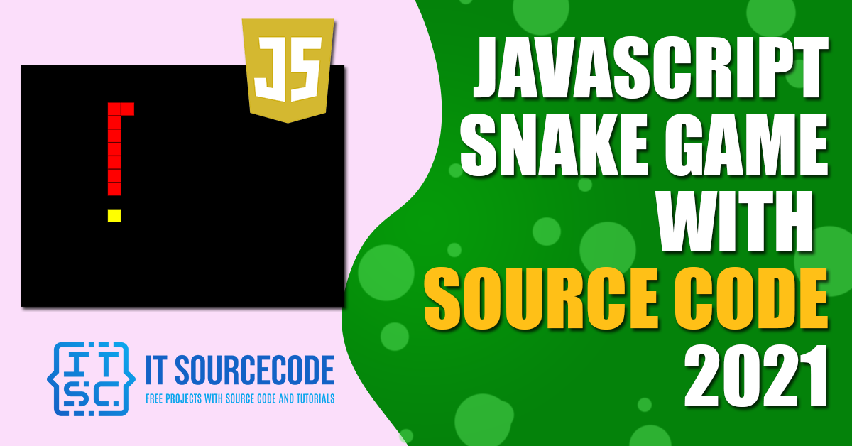 Javascript Snake Game with Source Code
