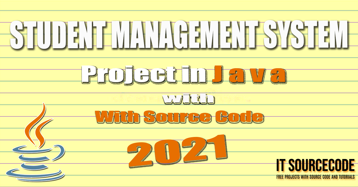 Student Management System Project in Java