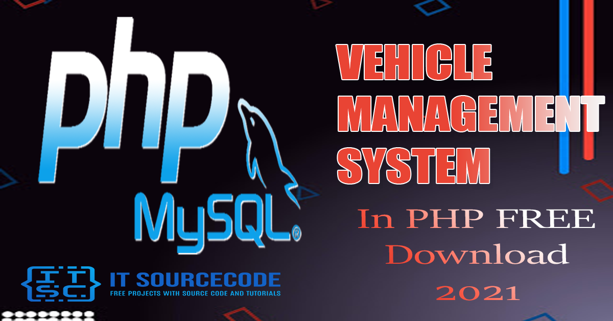 Vehicle Management System Project in Php with Source Code