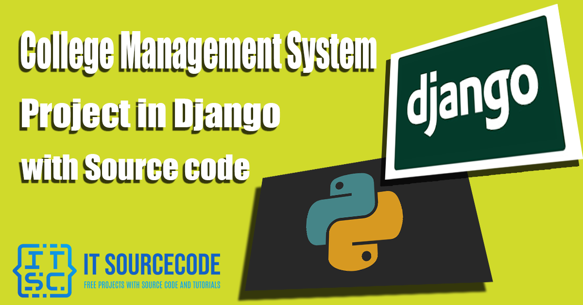 College Management System Project in Django with Source Code