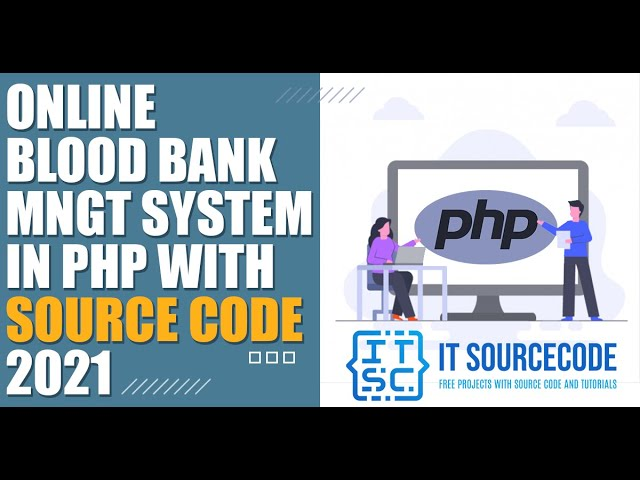 Online Blood Bank Management System in PHP Projects with Source Code