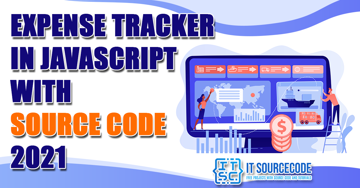 expense tracker in javascript with source code 2021