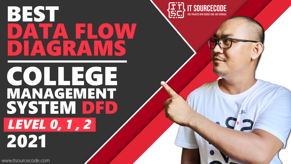 Best Data Flow Diagram - College Management System DFD Level 0 1 2 - 2021