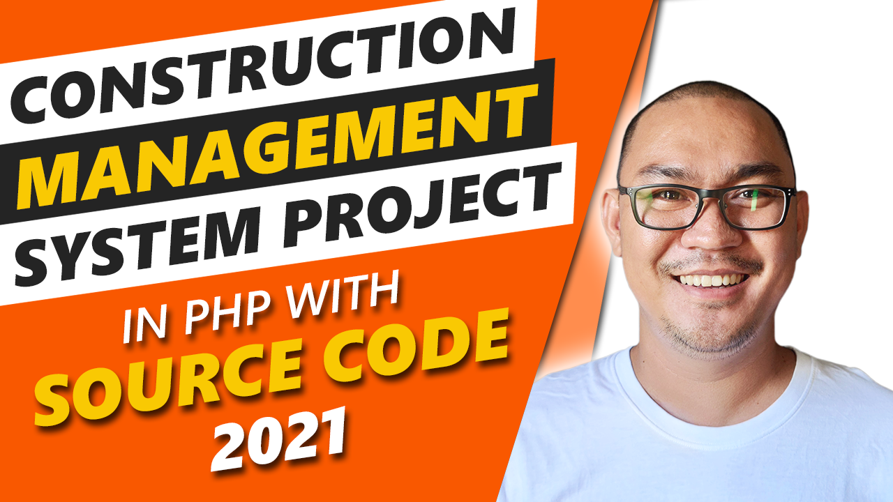 Construction Management System Project in PHP With Source Code