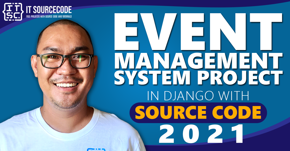 Event Management System Project in Django with Source Code 2021