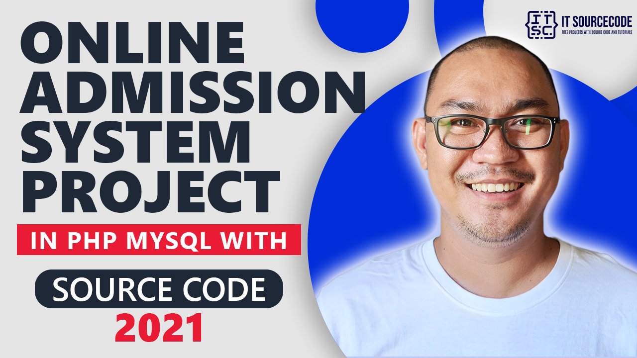 Online Admission System Project in PHP MySQL