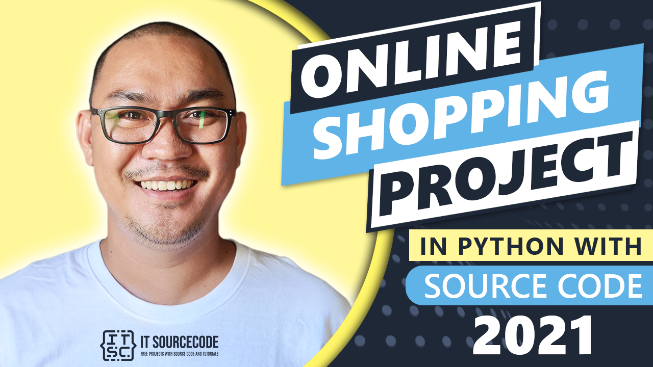 Online Shopping Project in Python with Source Code 2021