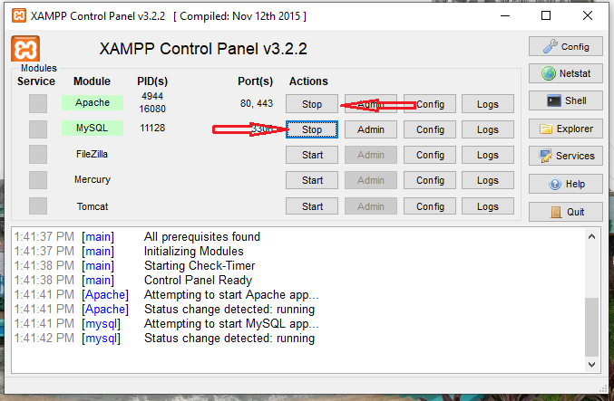 Student_Evaluation_System_in_C#_Step_XAMPP