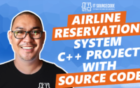 Airline Reservation System C++ Project With Source Code