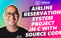 Airline Reservation System Project In C With Source Code