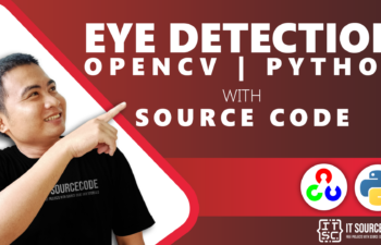 Eye Detection OpenCV Python With Source Code
