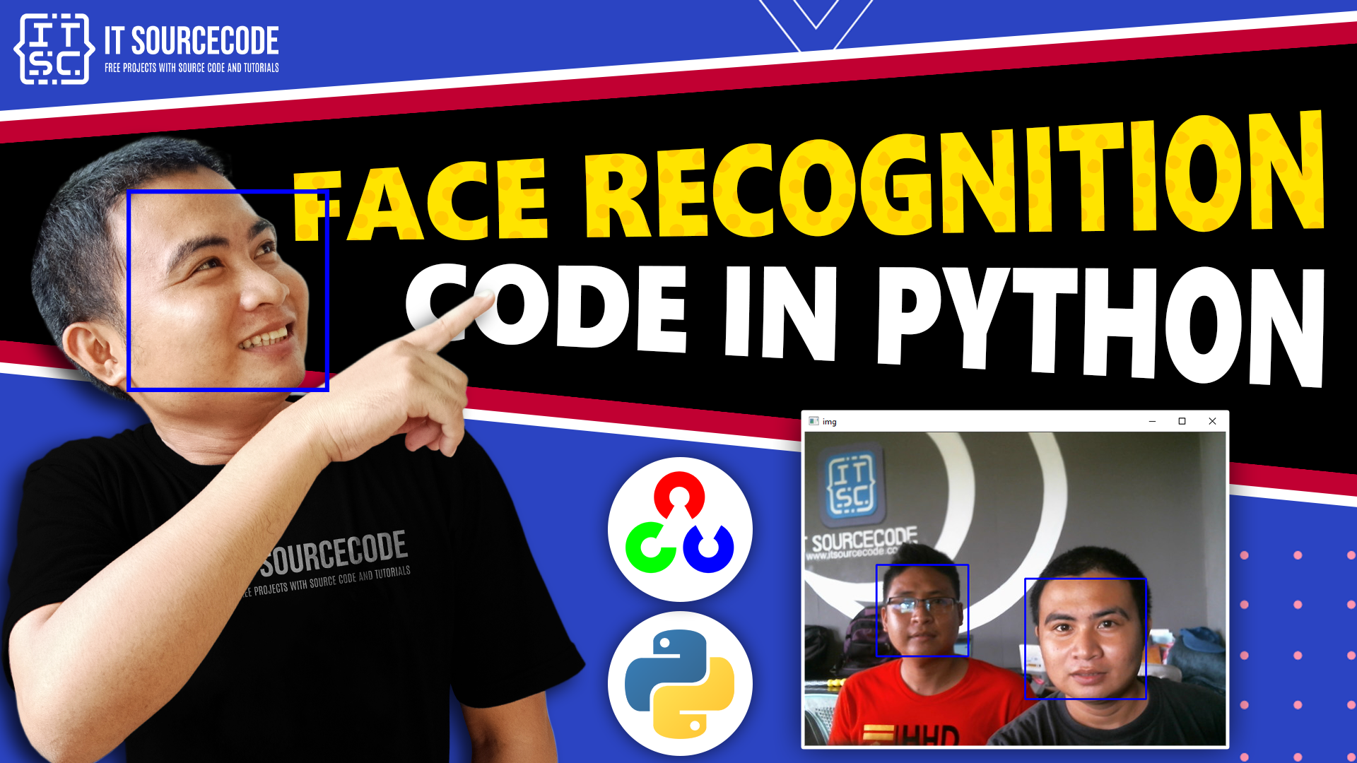 Face Recognition Code In Python Using Opencv With Source Code