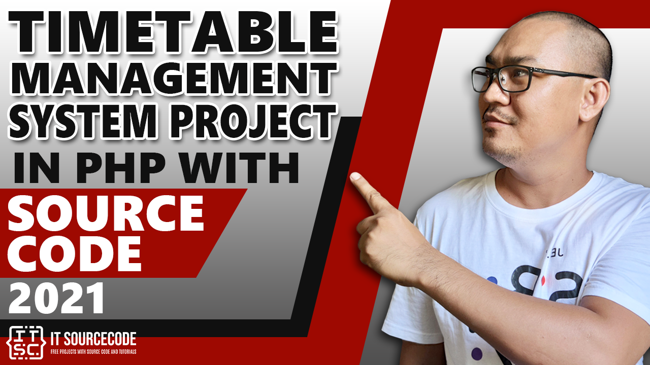 Time Table Management System in PHP with Source Code