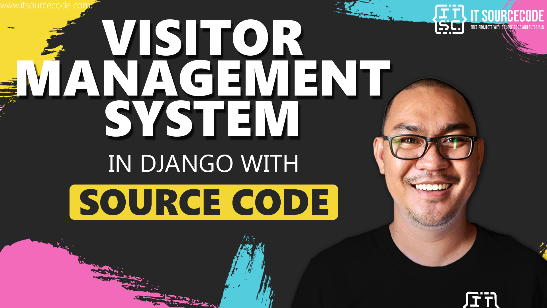 Visitor Management System in Django with Source Code 2021