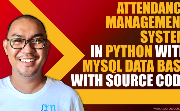 attendance management system in python with mysql database With Source Code